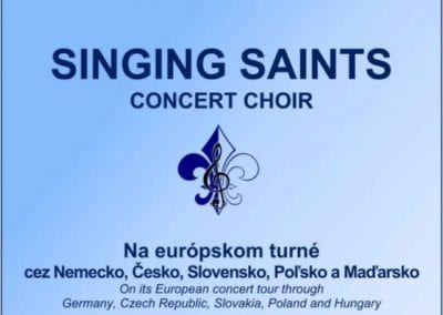 28.5.2018 – KONCERT – SPEVOKOL SINGING SAINTS, Tisovec