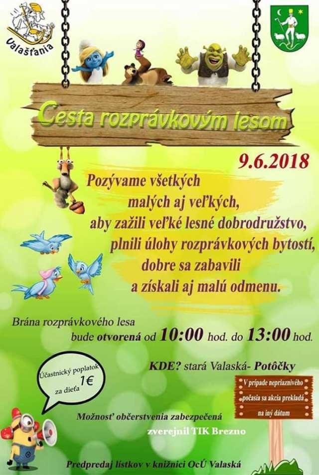 9.6.2018 – Cesta rozprávkovým lesom, Valaská