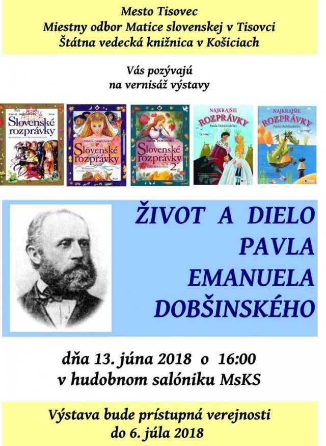 13.6.2018 – Vernisáš Pavla Emanuela Dobšinského, Tisovec