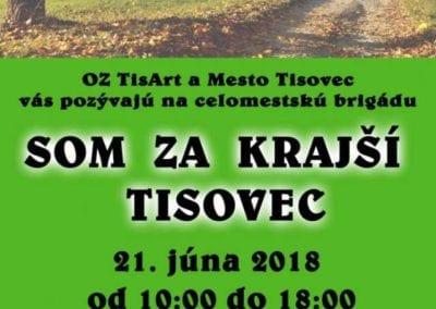 21.6.2018 Celomestská brigáda, Tisovec