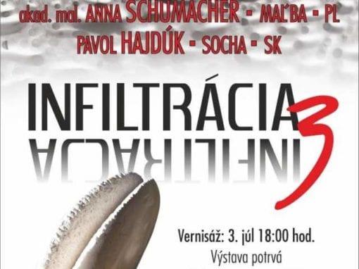 3. 7. 2018 – INFILTRÁCIA 3 – vernisáž, Brezno