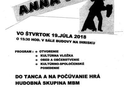 19.7.2018 – ANNA BÁL, Michalová
