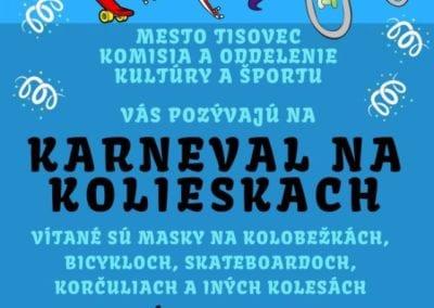 19.7.2018 – KARNEVAL NA KOLIESKACH, Tisovec