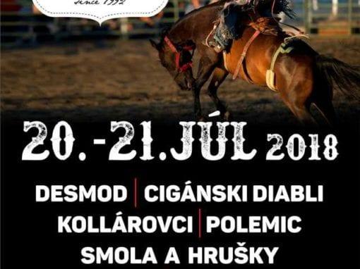 20. -21. 7.2018 RÓDEO, Muráň