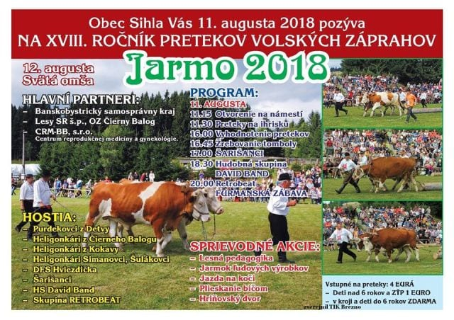 11.8.2018 – JARMO 2018, Sihla