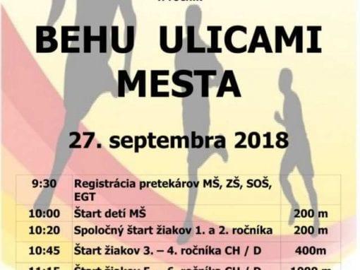 27.9.2018 BEH ULICAMI MESTA, Tisovec