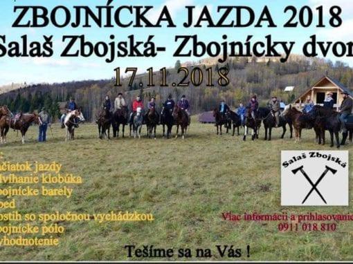 17.11.2018 – ZBOJNÍCKA JAZDA 2018, Salaš Zbojská