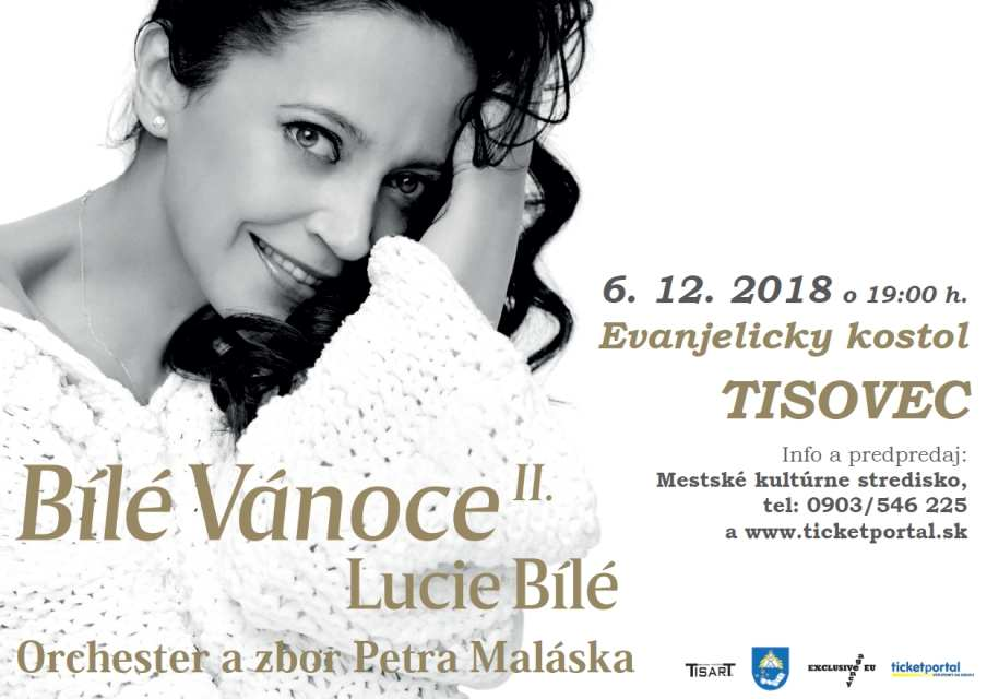 6.12.2018 BÍLÉ VÁNOCE LUCIE BÍLÉ II., Tisovec