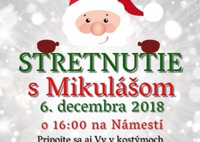 6. 12. 2018 STRETNUTIE S MIKULÁŠOM, Tisovec