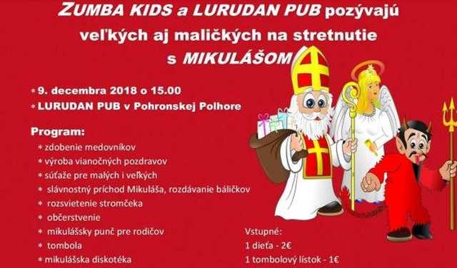 9.12.2018 STRETNUTIE S MIKULÁŠOM, Pohronská Polhora