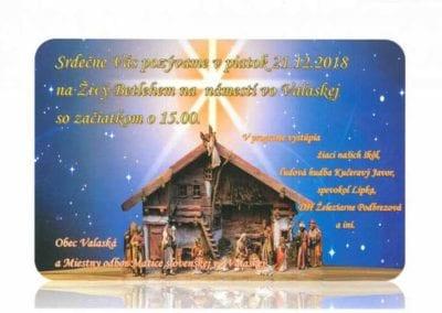 21.12.2018 – ŽIVÝ BETLEHEM, Valaská