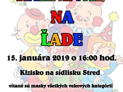15.1.2019, KARNEVAL NA ĽADE, Tisovec