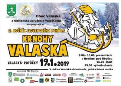 19.1.2019, 2. ROČNÍK SLOVENSKÉHO POHÁRA KRNOHY, Valaská