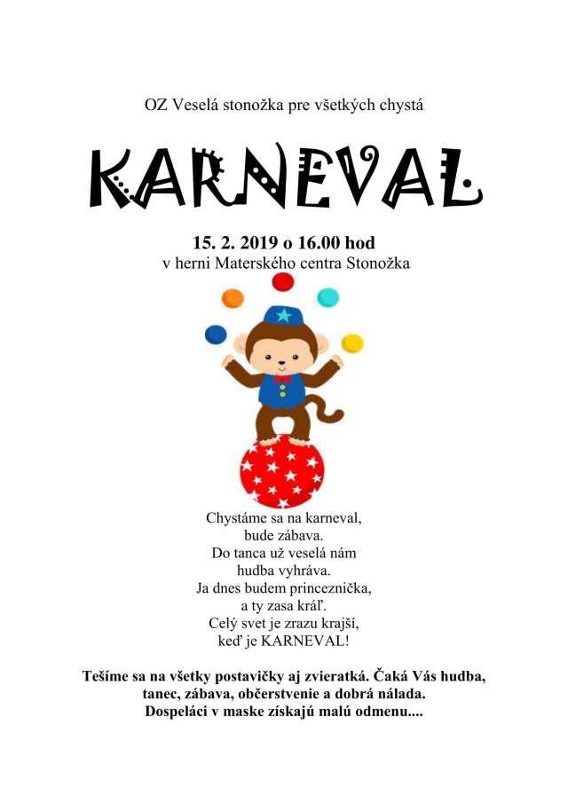 15. 2. 2019 KARNEVAL, Tisovec
