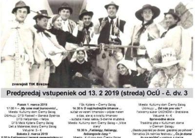 1. – 3. 3. 2019 – UŽ SA FAŠIANG KRÁTI, Čierny Balog