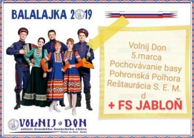 5.3.2019 – POCHOVÁVANIE BASY, Pohronská Polhora