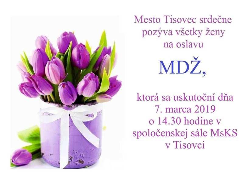 7.3.2019 – Medzinárodný deň žien, Tisovec