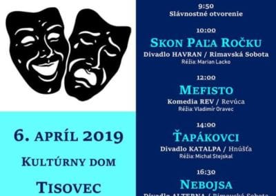 6.4.2019 LOJKOV TISOVEC, Tisovec
