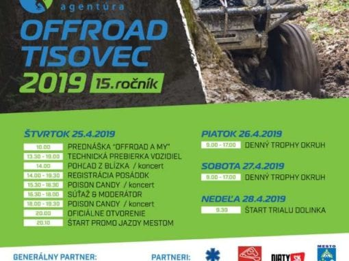 25.-28.4.2019 OFFROAD, Tisovec