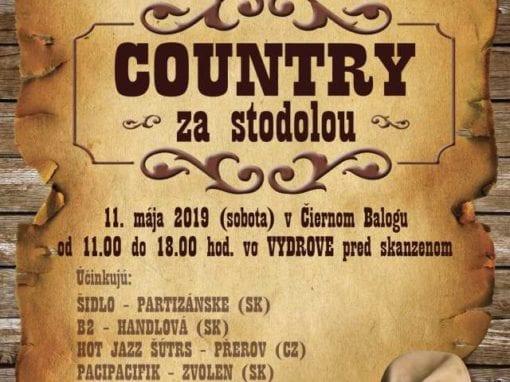 11.5.2019 COUNTRY ZA STODOLOU, Čierny Balog