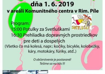 1.6.2019 MEDZINÁRODNY DEŇ DETÍ V RIMAVSKEJ PÍLE, Tisovec