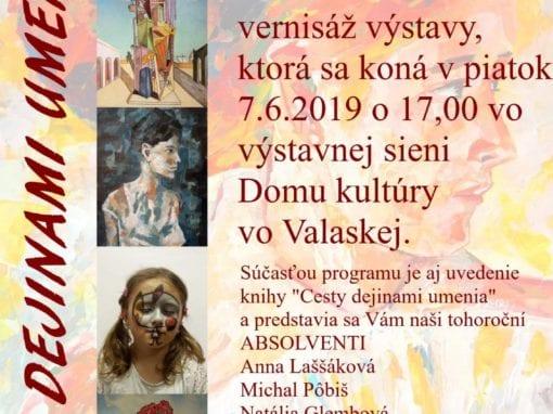 7.6.2019 CESTY DEJINAMI UMENIA II., Valaská
