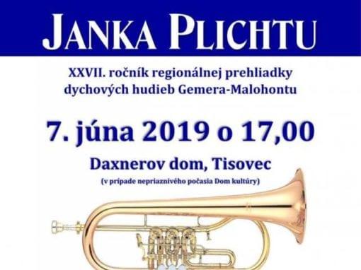 7.6.2019 FESTIVAL JANKA PLICHTU, Tisovec