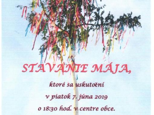 7.6.2019 STAVANIE MÁJA, Pohronská Polhora