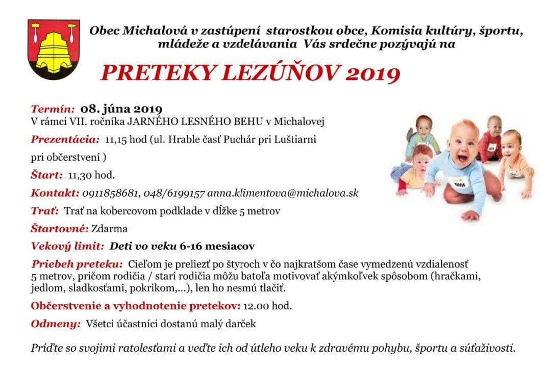 8.6.2019 PRETEKY LEZÚŇOV, Michalová