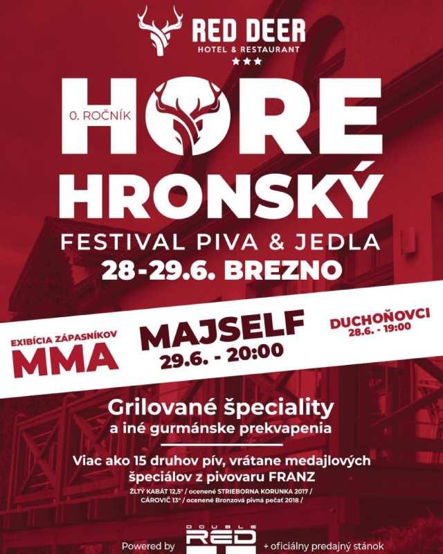 28. – 29.6.2019 HOREHRONSKÝ FESTIVAL, Brezno