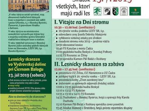 13.7.2019 DEŇ STROMU, Čierny Balog
