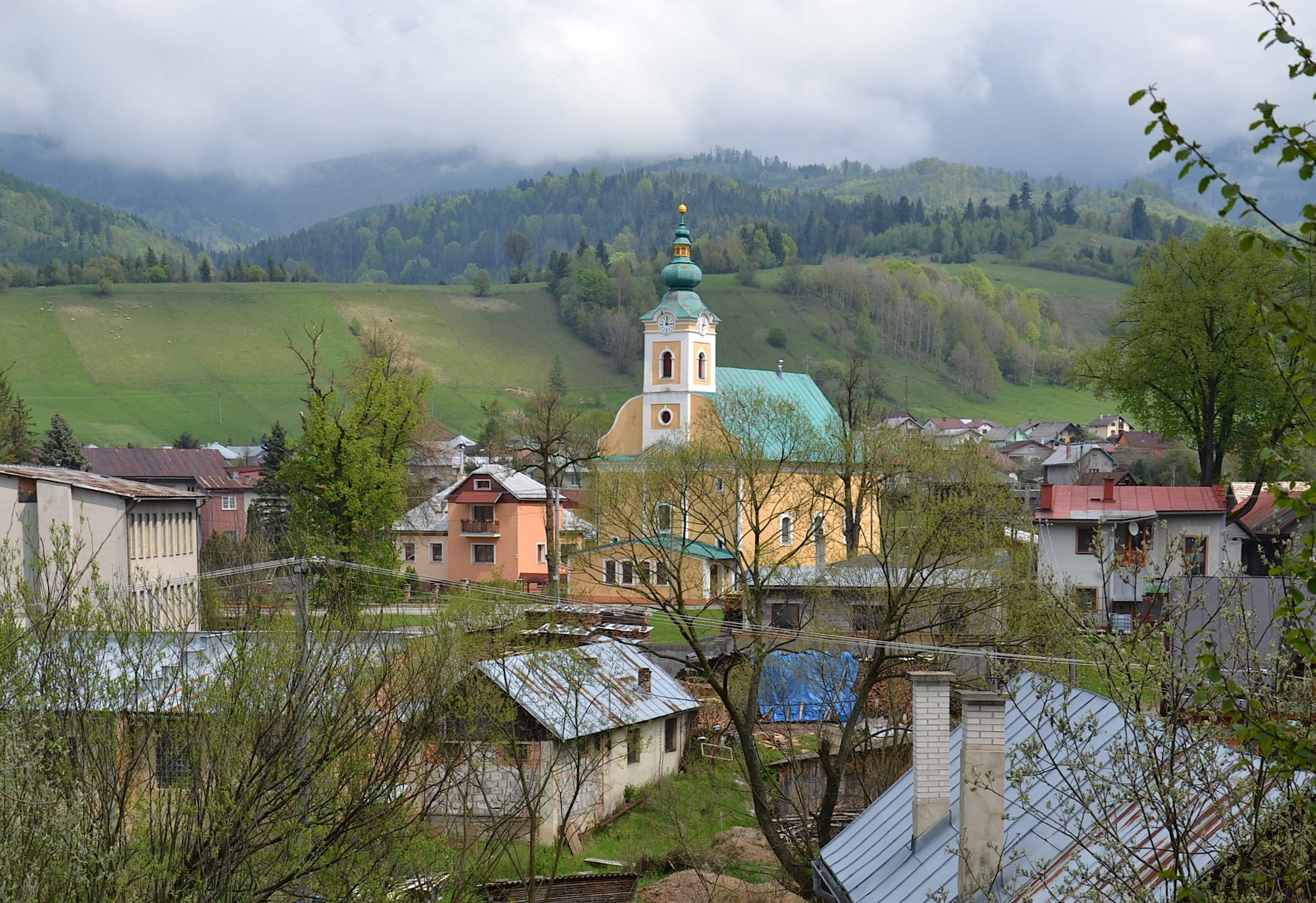Obec Pohronská Polhora