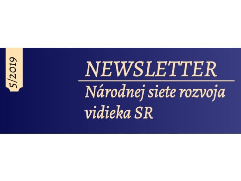 Newsletter NSRV SR č. 5