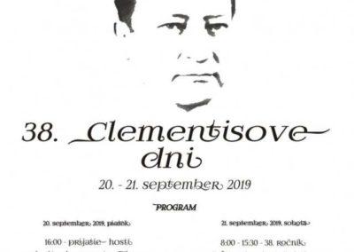 20. – 21.9.2019 CLEMENTISOVE DNI, Tisovec