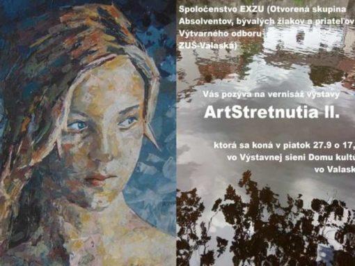 27.9.2019 – Vernisáž výstavy ArtStretnutie II., Valaská