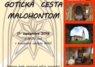 GOTICKÁ CESTA MALOHONTOM, Tisovec