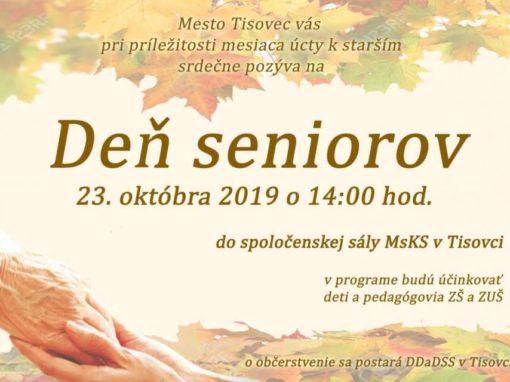 Deň seniorov, Tisovec