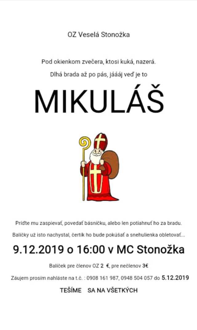 Mikuláš v Stonožke, Tisovec