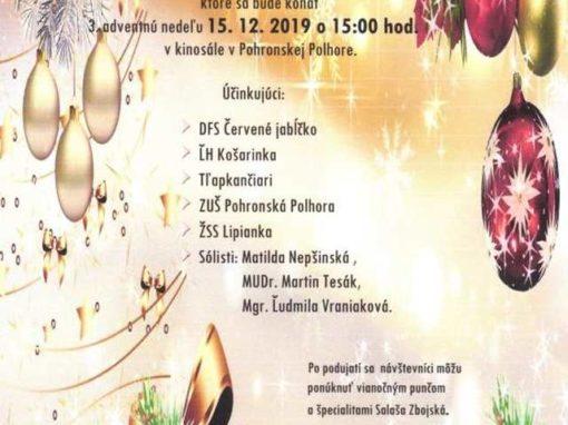 Vianočné pásmo zvykov a kolied, Pohronská Polhora