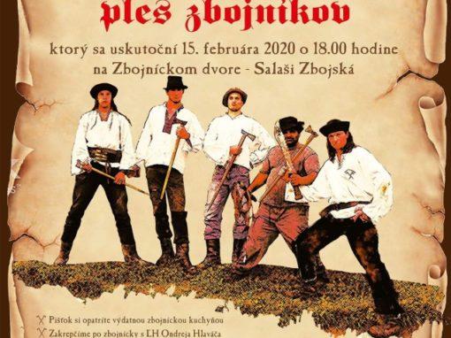 1. celoslovenský reprezentačný ples zbojníkov, Zbojská