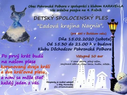Detský spoločenský ples, Pohronská Polhora