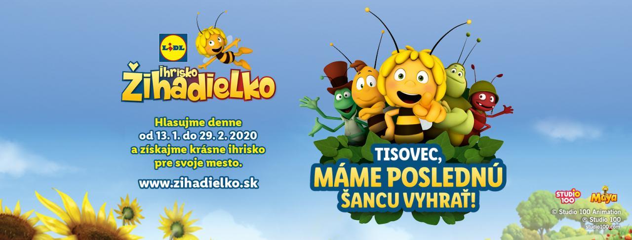 Detské ihrisko Žihadielko, Tisovec