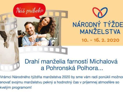 Národný týždeň manželstva, Michalová