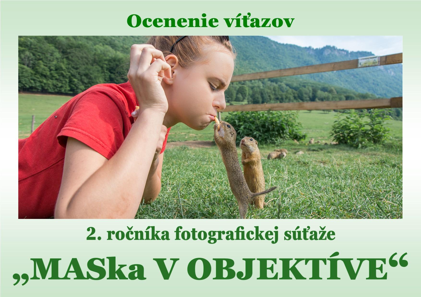 """Ocenenie víťazov fotografickej súťaže """"MASka v OBJEKTÍVE"""""""