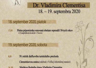 Clementisove dni 2020